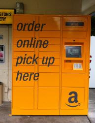 Amazon Locker in Seattle