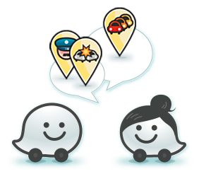 I love the Waze logos!